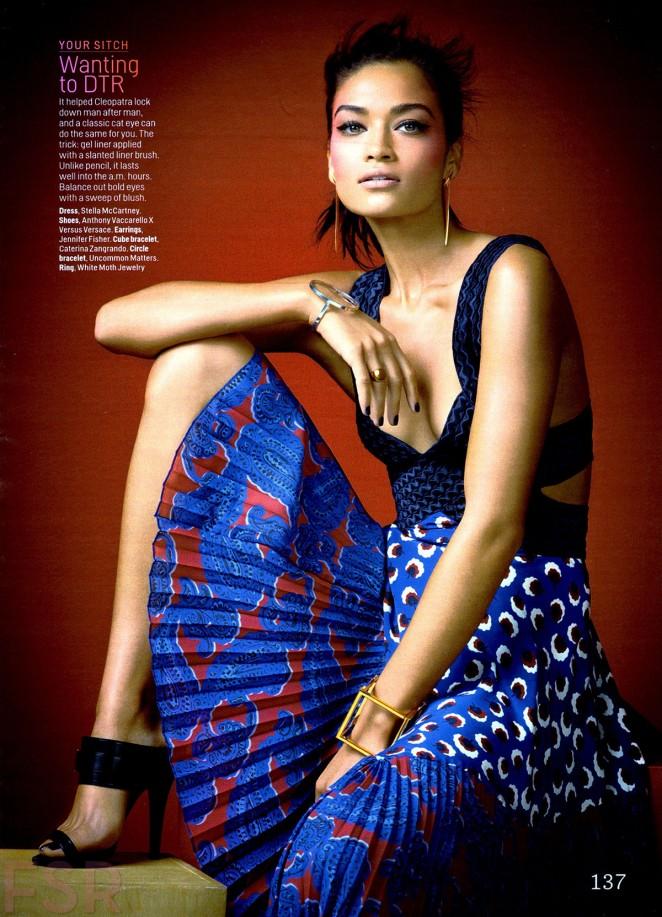 Shanina Shaik - Cosmopolitan Magazine (February 2015)