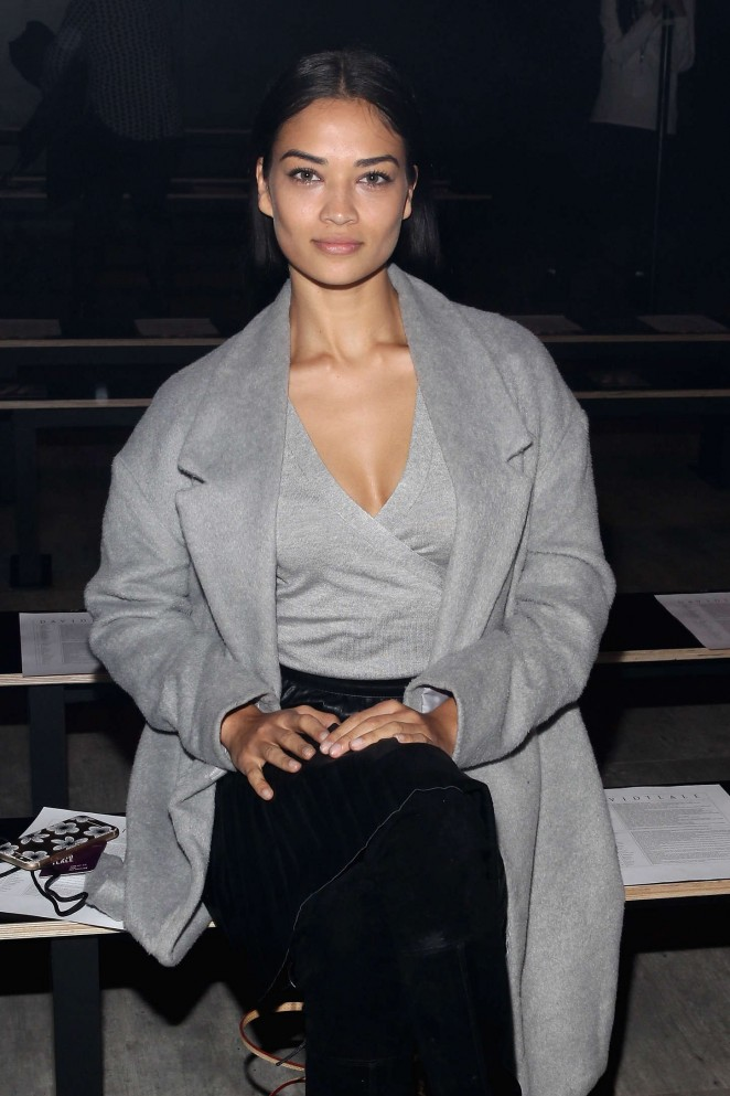 Shanina Shaik - David Tlale Fashion Show 2015 in NYC