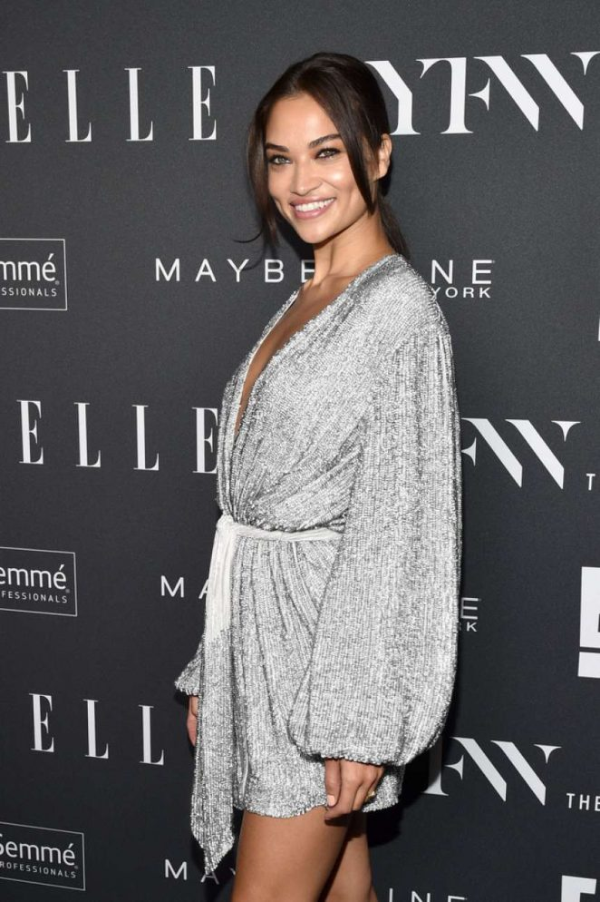 Shanina Shaik - E!, ELLE & IMG celebrate the Kick-Off To NYFW: The Shows in NYC