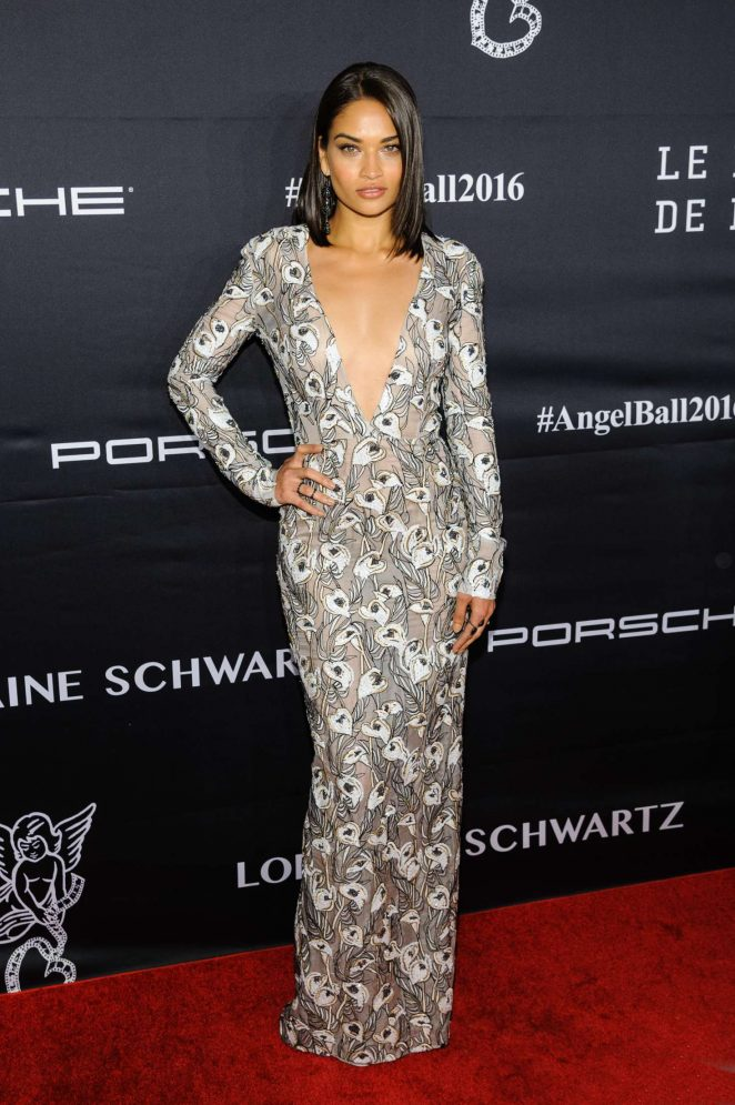 Shanina Shaik - Gabrielle's Angel Ball 2016 in New York