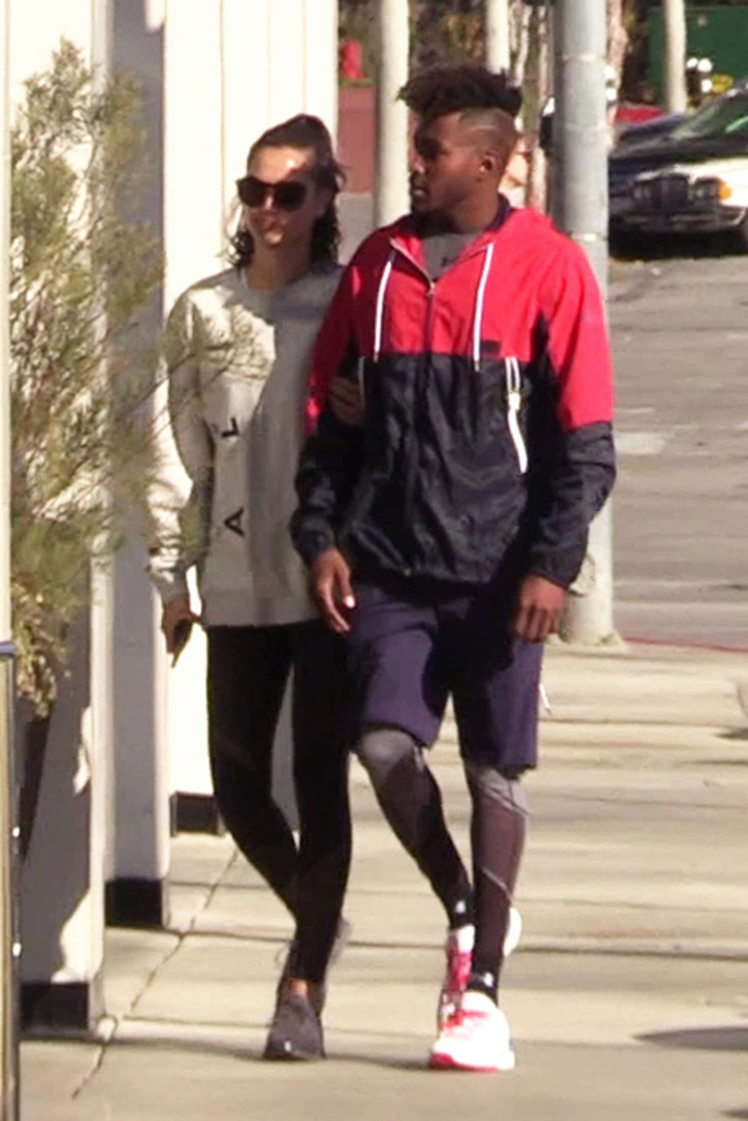 Shanina Shaik - Heads to Catch LA in West Hollywood