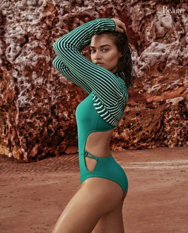 Shanina Shaik - InStyle Australia (November 2017)
