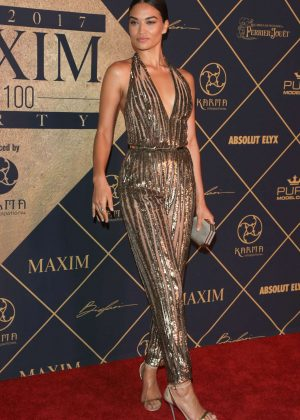Shanina Shaik - Maxim Hot 100 event in Hollywood