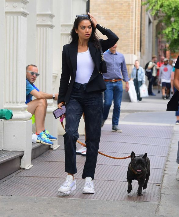 Shanina Shaik - Out in NYC