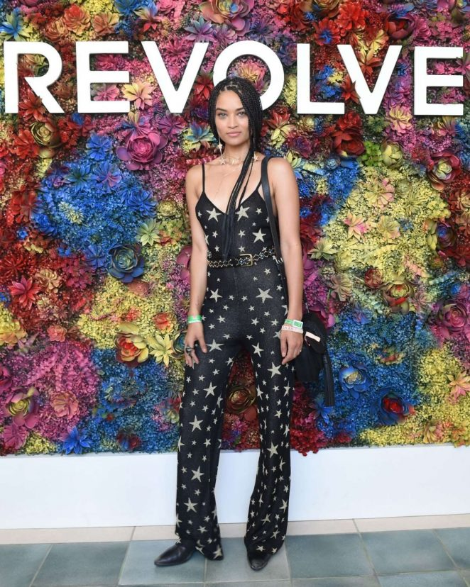 Shanina Shaik - Revolve Desert House at 2017 Coachella in Indio