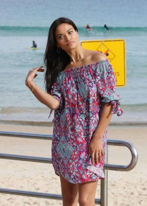 Shanina Shaik - Seafolly Event in Sydney
