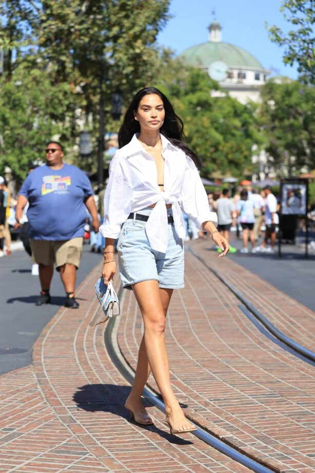 Shanina Shaik - seen outside a Coach Event in West Hollywood