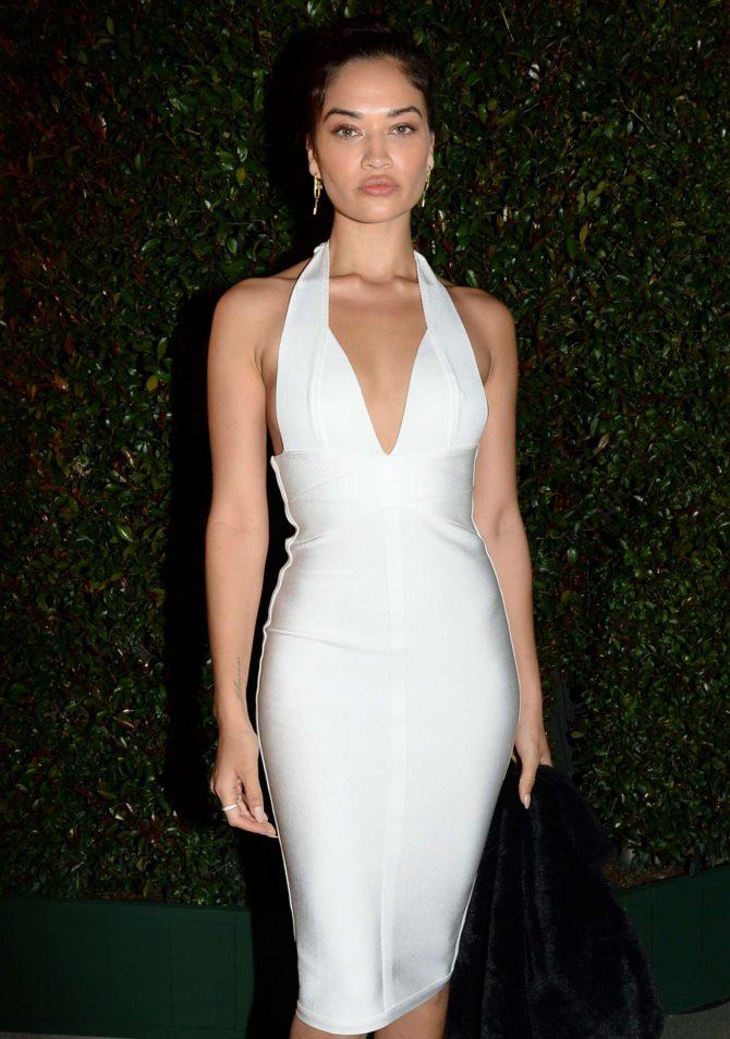 Shanina Shaik - WME Pre-Oscar Party in LA