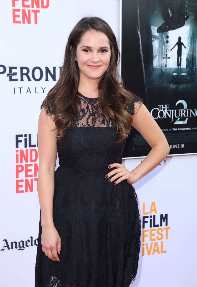 Shanley Caswell: The Conjuring 2 Premiere -14 - GotCeleb