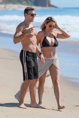 Shanna Moakler - In a bikini at the beach in Malibu
