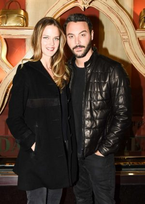 Shannan Click - Tod's Fellini-esque Holiday Circus Celebration in N