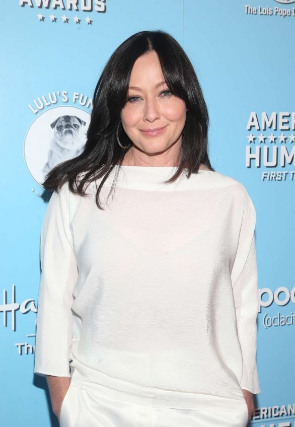 Shannen Doherty - 9th Annual American Humane Hero Dog Awards in Beverly Hills