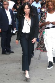 Shannen Doherty - Arrives at Good Morning America in New York City