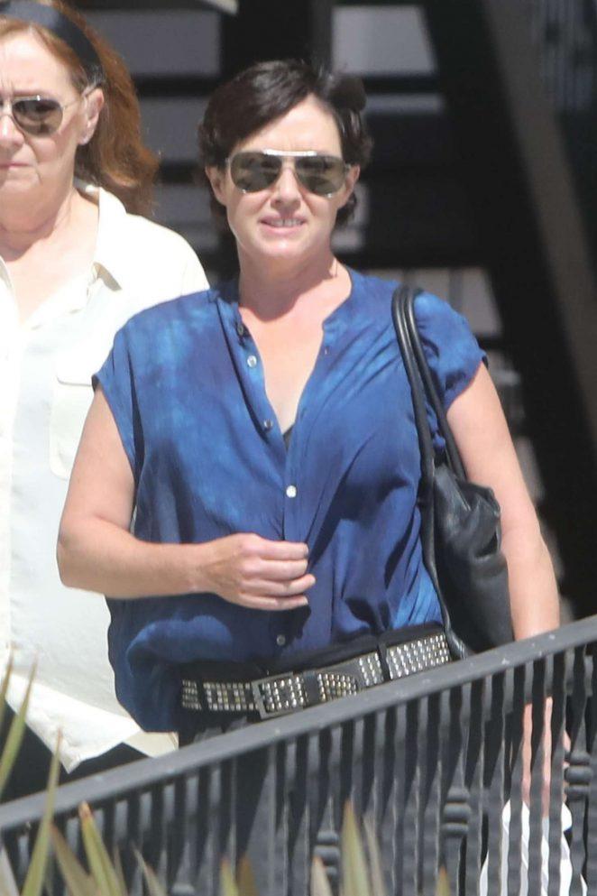 Shannen Doherty out in Malibu
