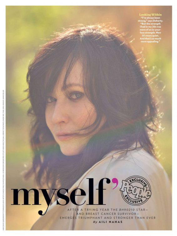 Shannen Doherty - People Magazine - August 2019