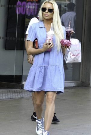 Shannen Reilly McGrath in Mini Dress - Out in Manchester