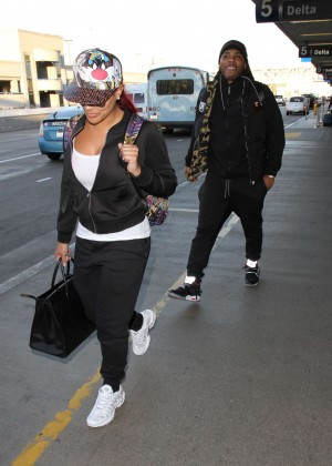 Shantel Jackson Arrived in Los Angeles
