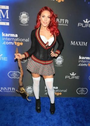 Sharna Burgess - 2017 Maxim Halloween Party in Los Angeles