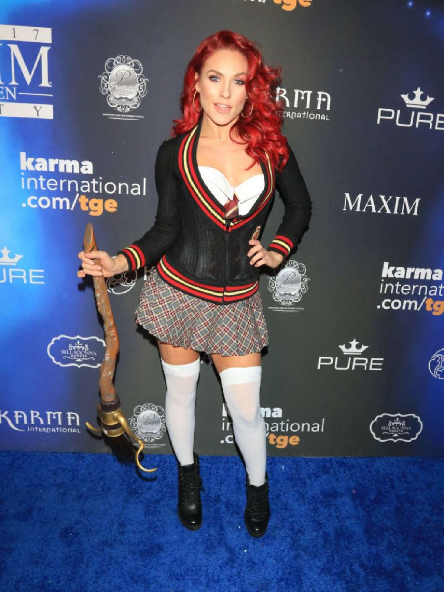Sharna Burgess - 2017 Maxim Halloween Party in Los Angeles
