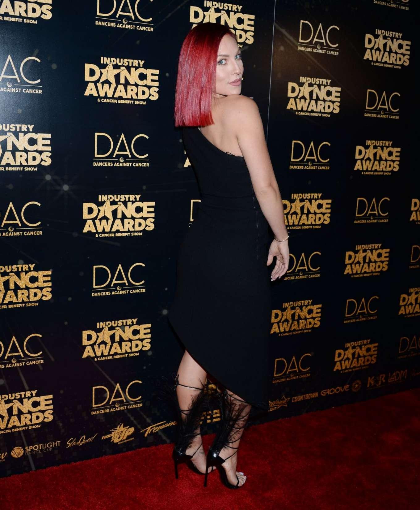 Sharna Burgess 2018 : Sharna Burgess: 2018 Industry Dance Awards -01