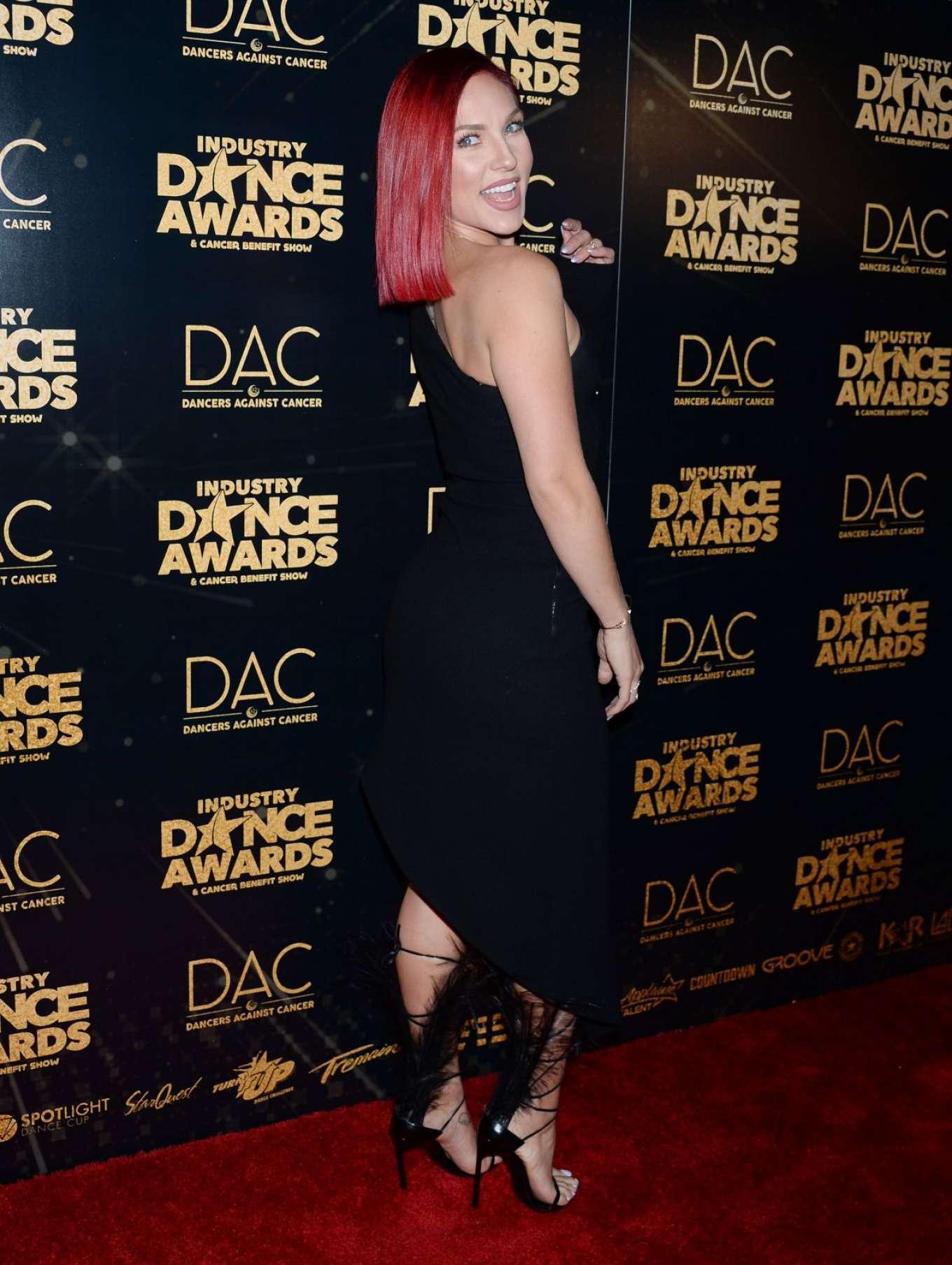 Sharna Burgess 2018 : Sharna Burgess: 2018 Industry Dance Awards -02