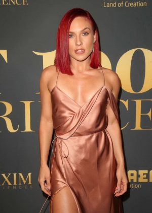 Sharna Burgess - 2018 Maxim Hot 100 Experience in Los Angeles