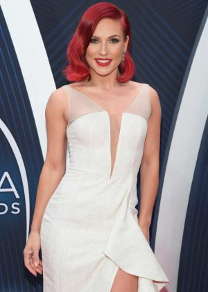 Sharna Burgess - 2018 CMA Awards in Nashville