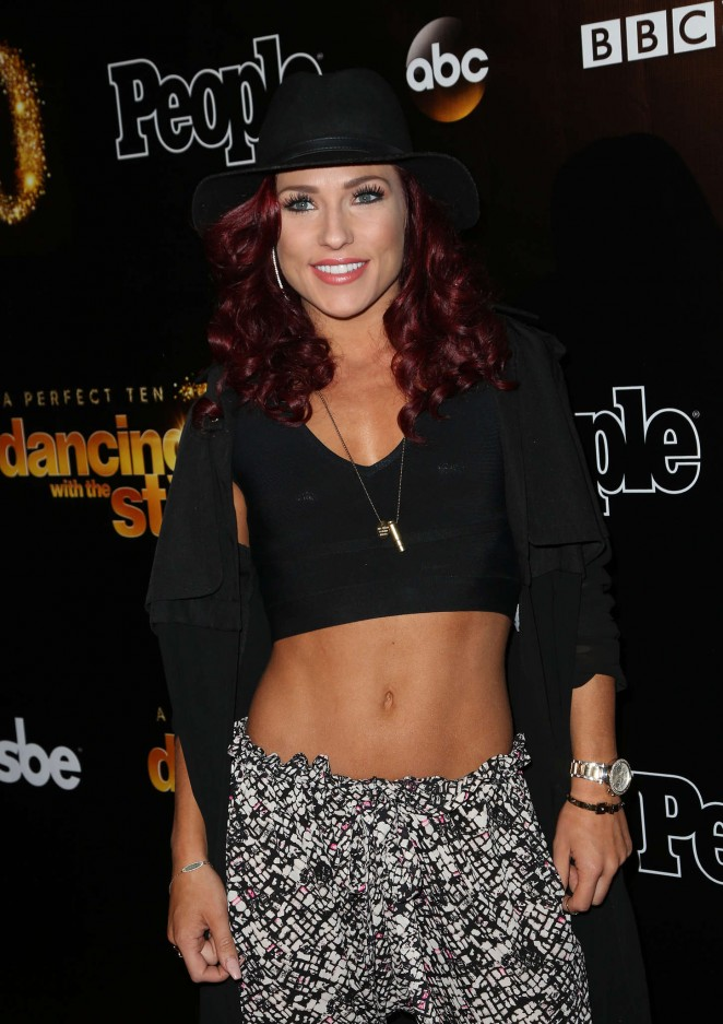 Sharna Burgess - DWTS 10th Anniversary Party in West Hollywood
