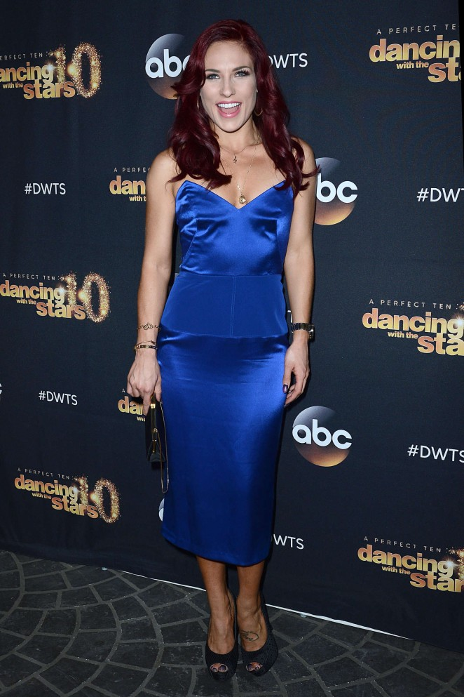 Sharna Burgess - Dancing With The Stars Cast Party at Hyde Lounge