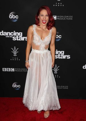 Sharna Burgess - 'Dancing With the Stars' Season 23 Finale in Hollywood