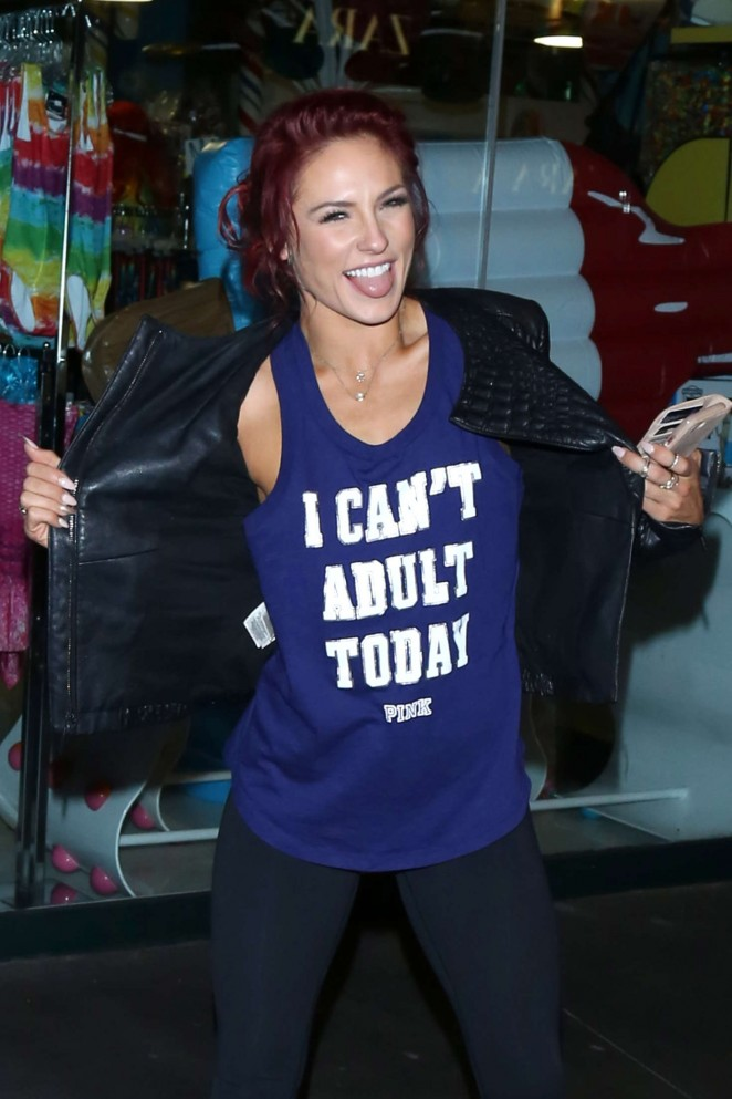Sharna Burgess - Heads to Mixology101 after DWTS Competition in LA