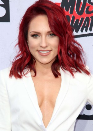Sharna Burgess - iHeartRadio Music Awards 2016 in Los Angeles