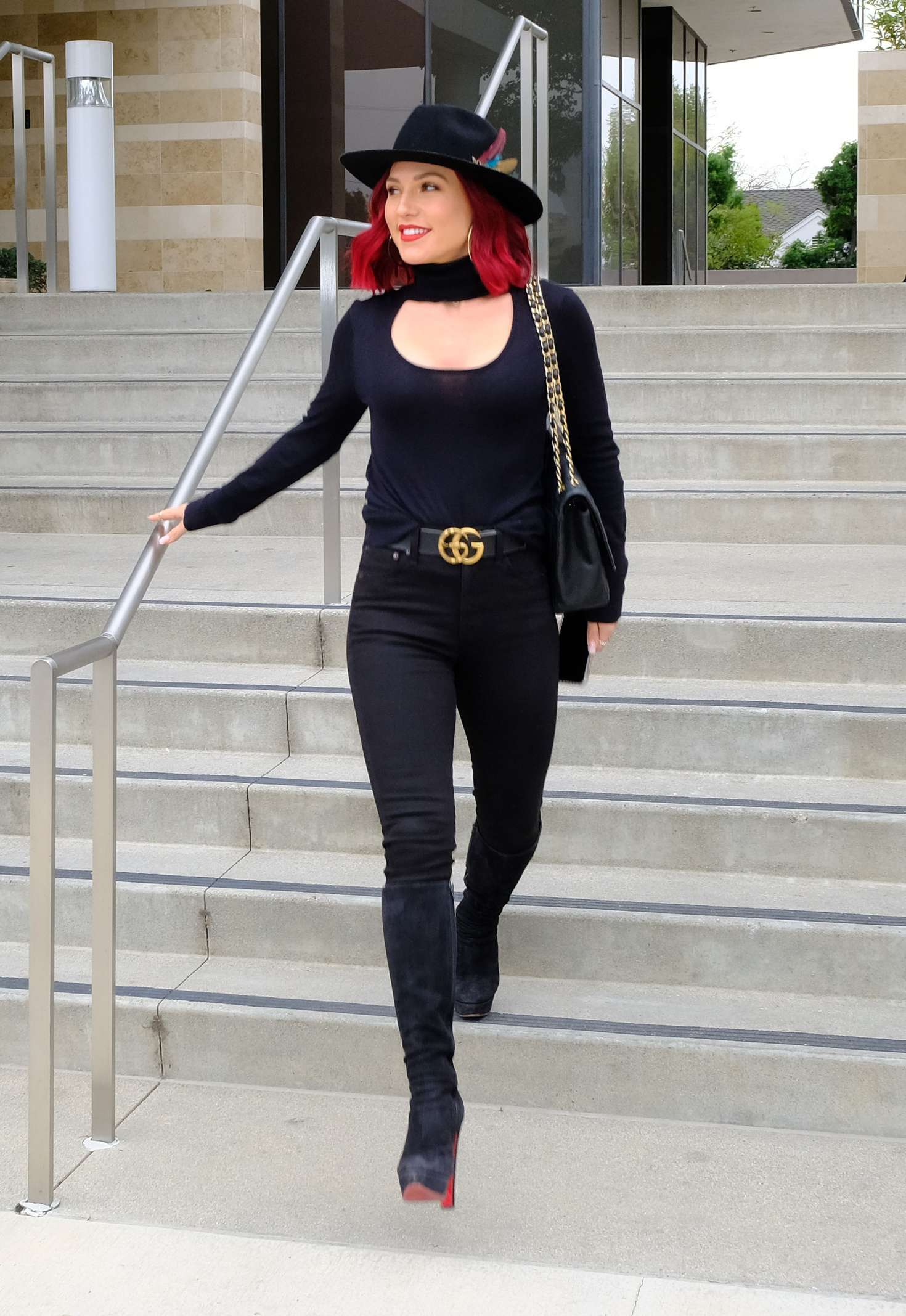 Sharna Burgess - Out in Los Angeles
