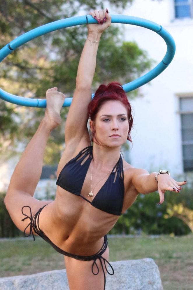 Sharna Burgess - Bikini Photoshoot in LA
