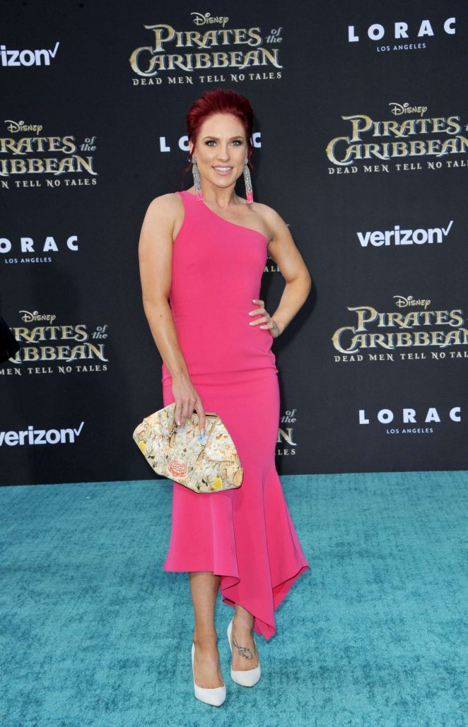 Sharna Burgess - 'Pirates Of The Caribbean: Dead Men Tell No Tales' Premiere in Hollywood