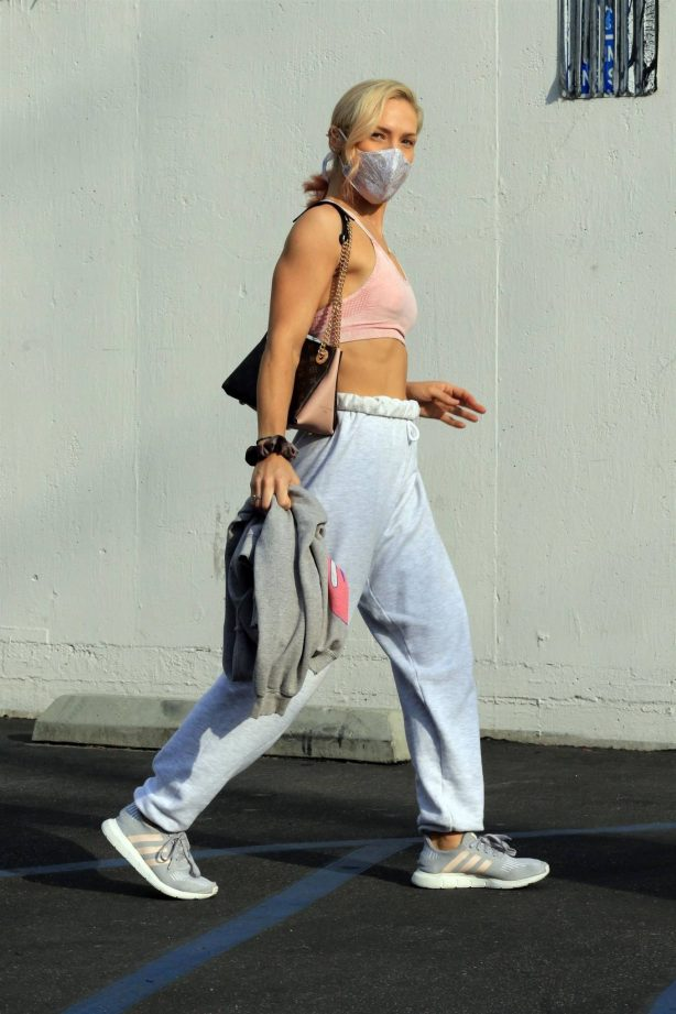 Sharna Burgess - Seen after dance practice in Los Angeles