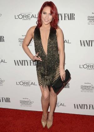 Sharna Burgess - Vanity Fair L'Oreal Paris and Hailee Steinfeld host DJ Night in West Hollywood