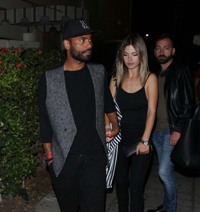 Sharon Canu and Ashley Cole at Delilah in West Hollywood