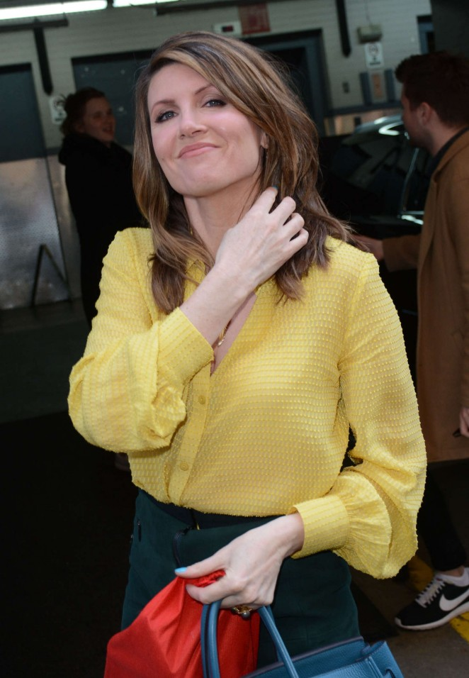 Sharon Horgan at AOL BUILD Studios in NYC