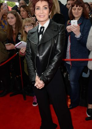Sharon Osbourne - Arrives for X Factor in Manchester