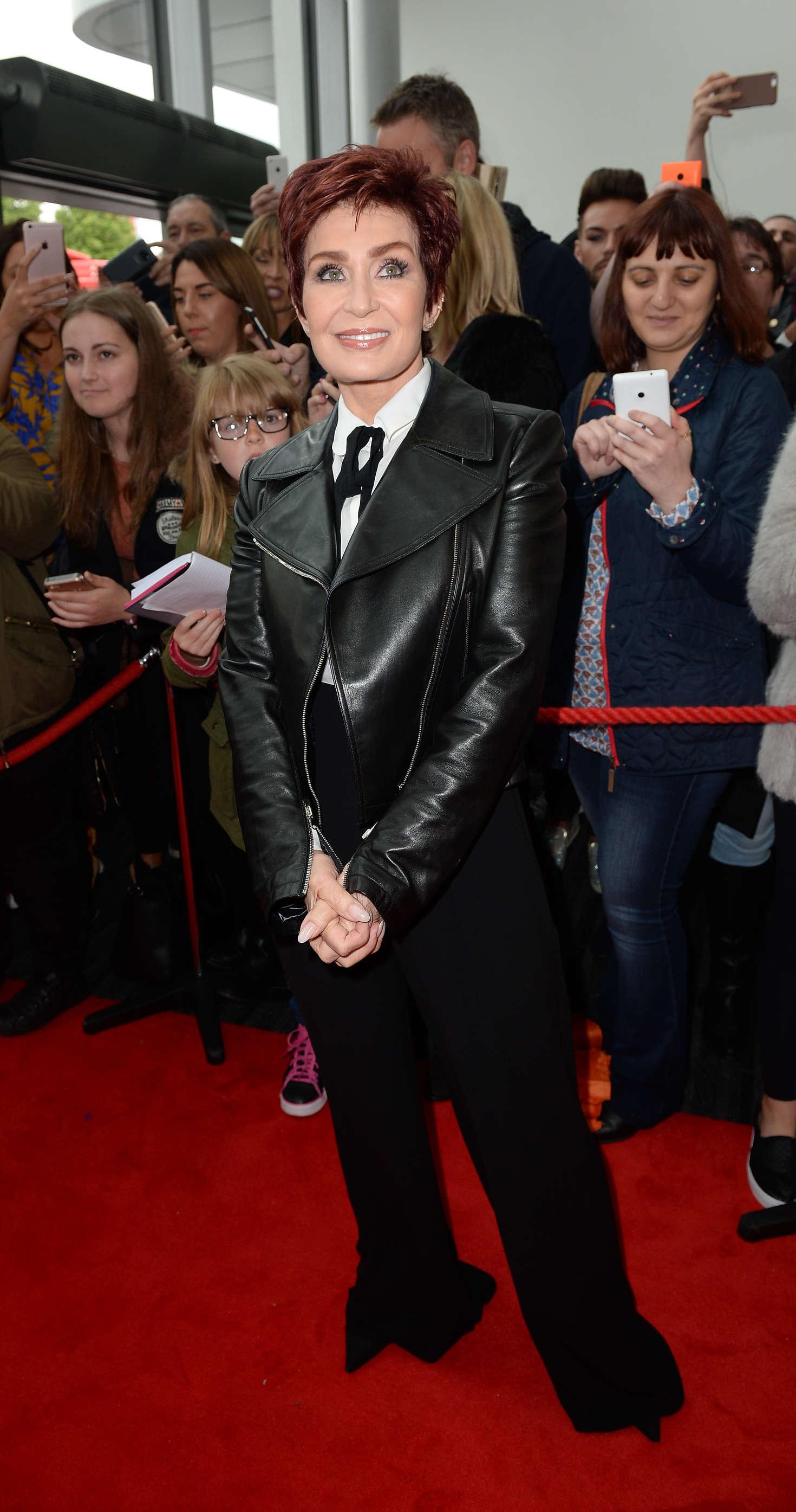 Sharon Osbourne - Arrives for X Factor in Manchester