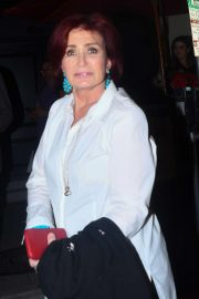 Sharon Osbourne - Out for Dinner at Craig's in West Hollywood