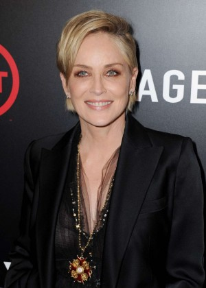 Sharon Stone - 'Agent X' Premiere in West Hollywood