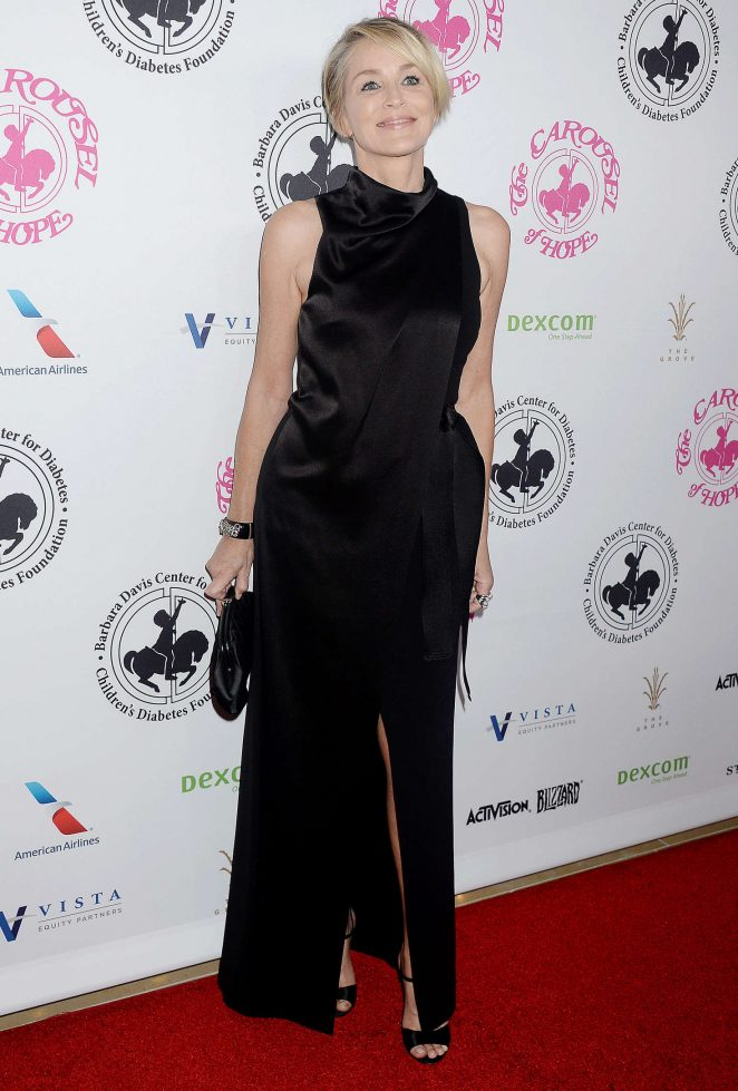 Sharon Stone - Carousel of Hope Ball 2016 in Beverly Hills