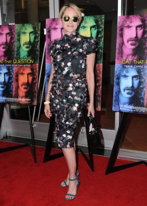 Sharon Stone - 'Eat That Question: Frank Zappa in His Own Words' Premiere in LA