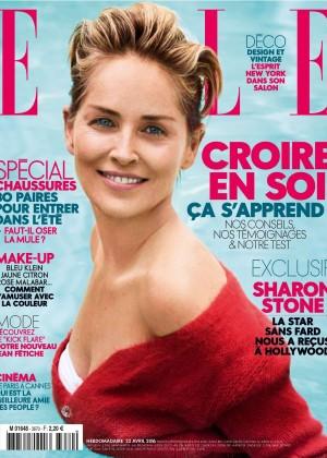 Sharon Stone - Elle France Magazine (April 2016)