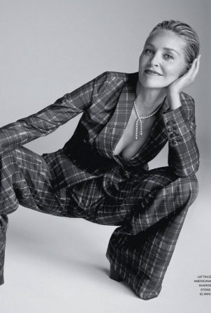 Sharon Stone - Grazia Italy Magazine (May 2020)
