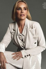 Sharon Stone -  Harper's Bazaar Espana Magazine (November 2019)