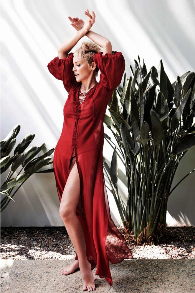 Sharon Stone: Haute Living US 2017 -01