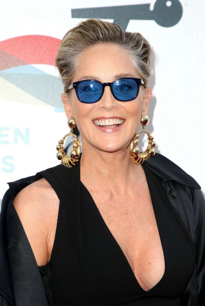 Sharon Stone - Inaugural Janie's Fund Gala and Grammy Party in LA